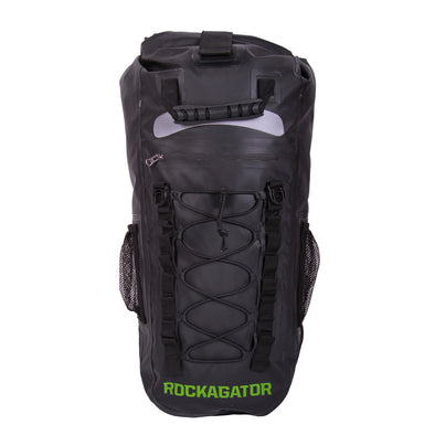 The Rockagator RG-25 ORIGINAL is the best waterproof backpack for staying dry while out in the elements.  Whether you are biking, cycling, hiking, canyoneering, boating, fishing, fly fishing or any other activity where you are at the mercy of the rain, water and elements. We've got you covered!