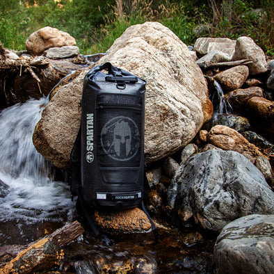 (Pre-Order Special) Rockagator Limited Edition Official Spartan AGOGE 90-Liter Waterproof Backpack