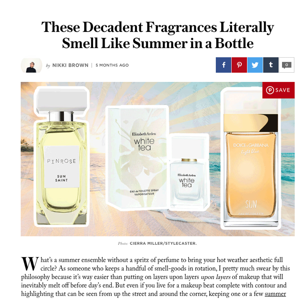 Coral Named as Style Caster's Decadent Summer Fragrance