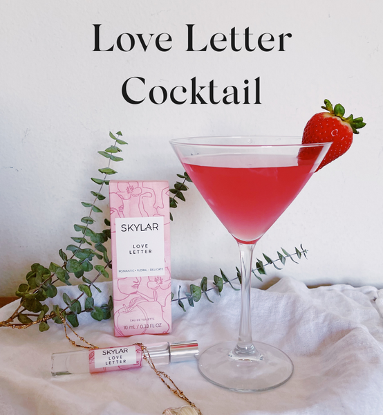 Love Letter Cocktail - Pink Lady
