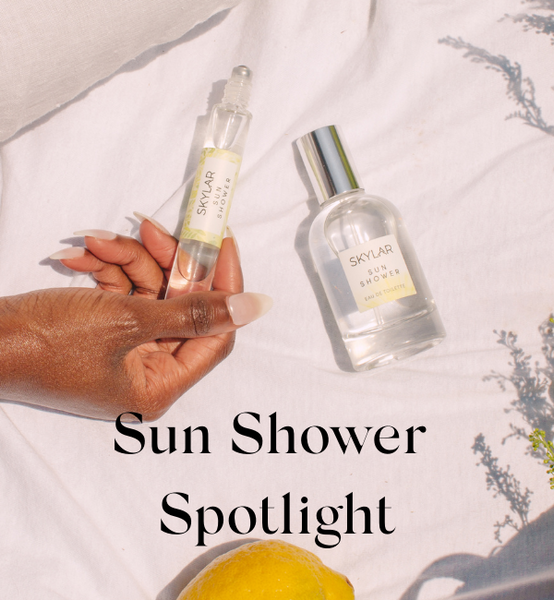 Sun Shower Spotlight
