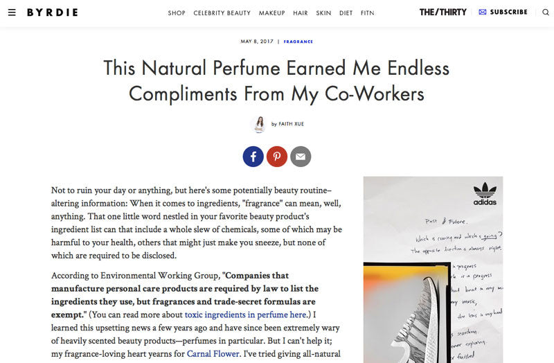 Byrdie: Skylar Natural Perfume Earned Compliments