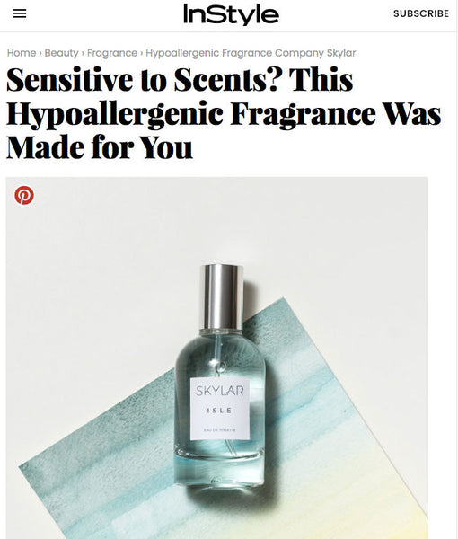 InStyle Features Skylar's Hypoallergenic Isle Fragrance Made for You