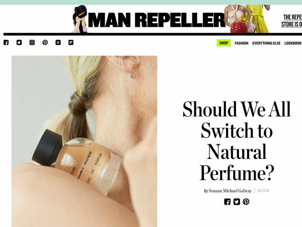 Man Repeller: Why Switch to Natural Perfume