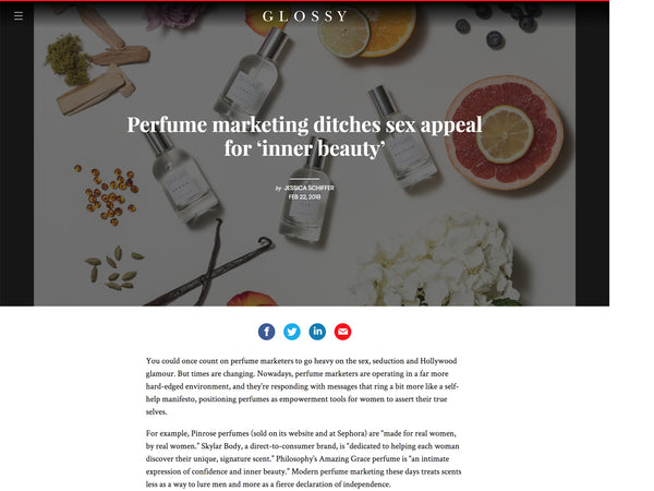 Glossy: Skylar Focuses on Inner Beauty for Marketing