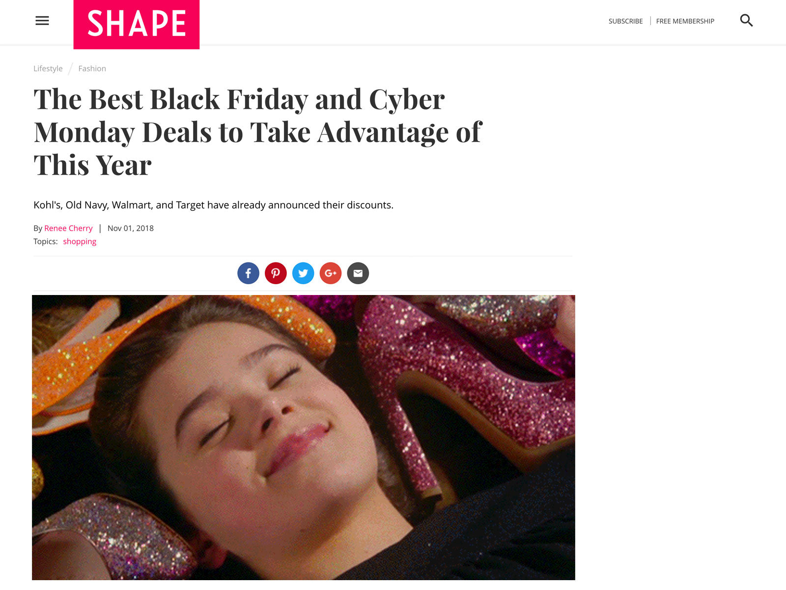 Shape Lists Skylar As One of Best Black Friday & Cyber Monday Deals