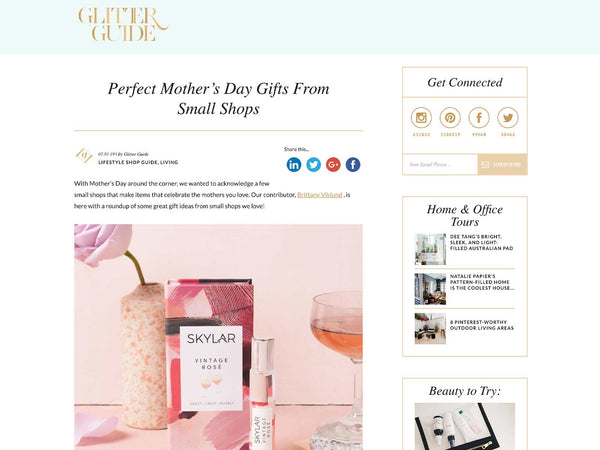 Glitter Guide: Vintage Rose is a Perfect Mother's Day Gift