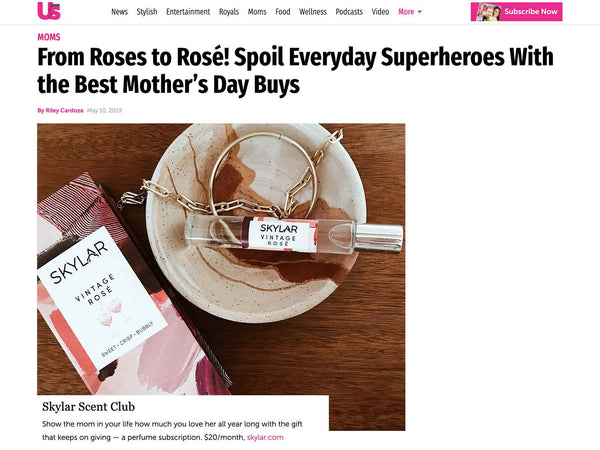 Us Weekly: Vintage Rose is the Best Mother's Day Buy