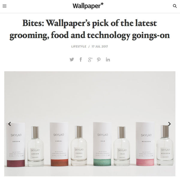 Skylar Body Chosen as Wallpaper's Pick of the Latest Goings-On
