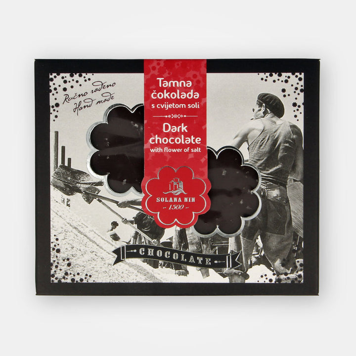 Dark Chocolate with Fleur de Sel