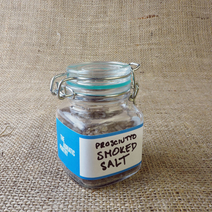 Experiment 001: Prosciutto Smoked Salt