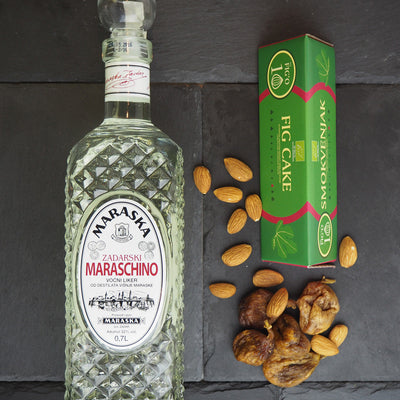 Perfect Pairing: Maraska Maraschino & Organic Fig Cake