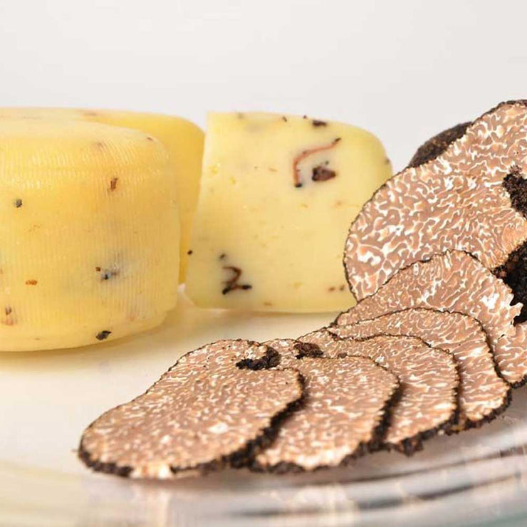 Istrian Black Summer Truffle Cheese