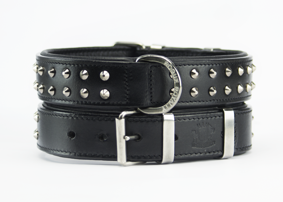 Buy Black & Steel Ruffneck Slim Fit Dog Collar Online