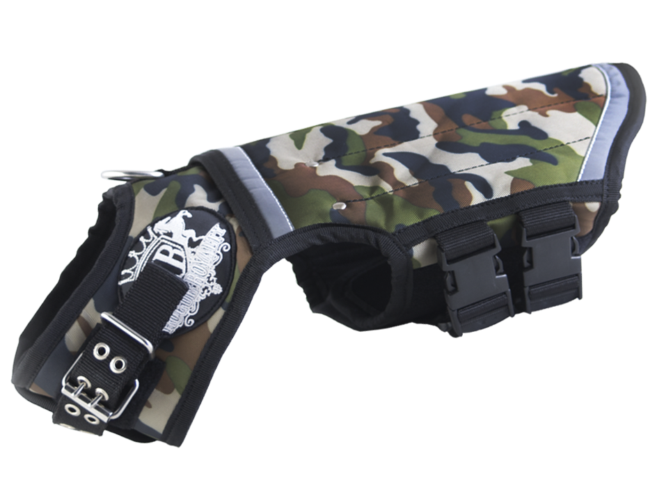 Canine Weight Vest - 'CAMO'