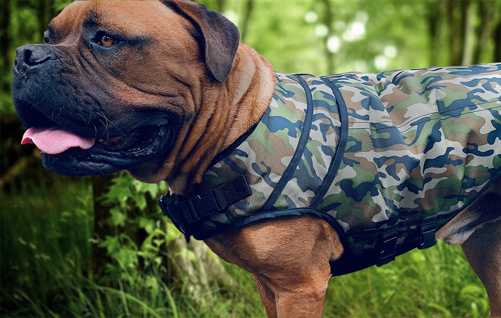 Rogue Active Dog Jacket - 'CAMO'