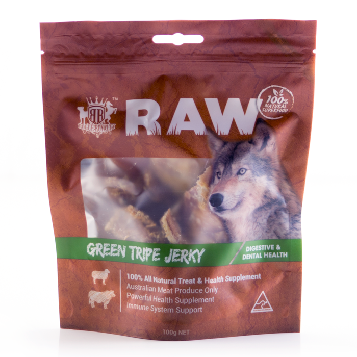 Buy Dried Green Tripe Dog Treats Online