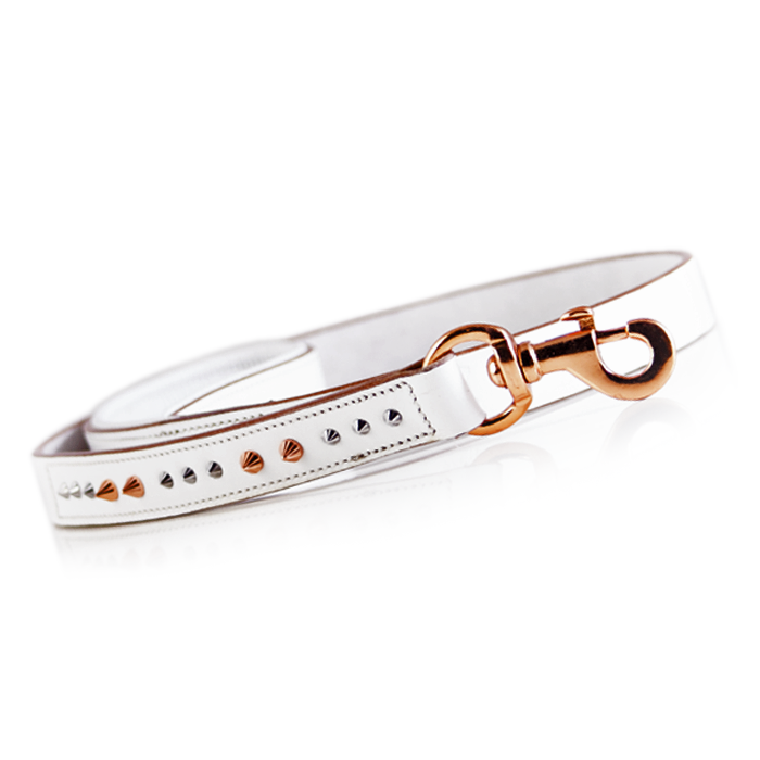 Buy Iced Out Rose Gold Dog Leash Online