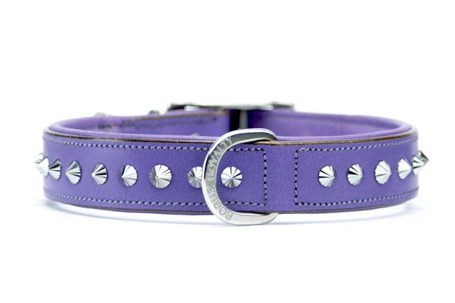 Buy Imperial Purple Slimfit Dog Collar Online