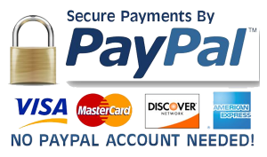 We Accept Credit Cards Using Paypal