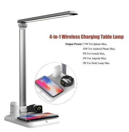 Wireless Charging Lamp
