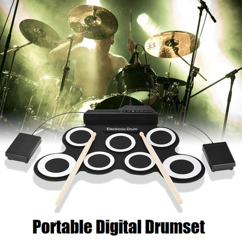 BitDrum™️ - Portable Digital Drumset
