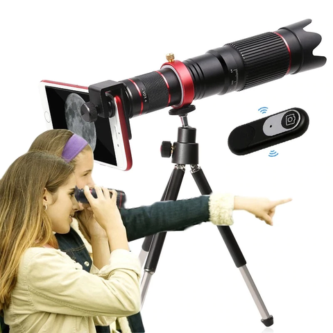 Mobile ZoomScope™️ - Mobile Phone Telescope
