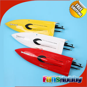 TENSHOCK MINI MONO GLASS FIBER ARTR RC TOY BOAT