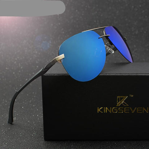 ALUMINUM MAGNESIUM POLARIZED SUNGLASSES MEN DRIVER MIRROR SUN GLASSES