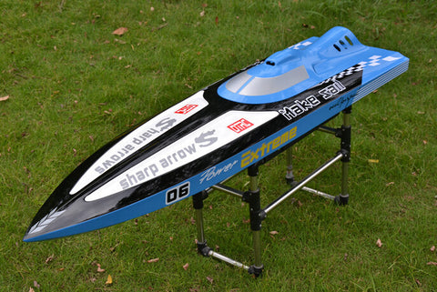 HIGH SPEED PIONEER EXTREME  GASOLINE RC BOAT FOR CHILD