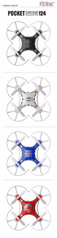 MINI DRONE MICRO POCKET  GYRO SWITCHABLE CONTROLLER RC HELICOPTER KIDS TOYS