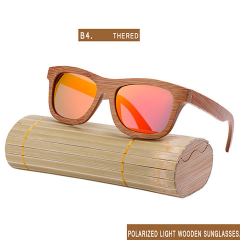 NEW FASHION  HANDMADE BAMBOO WOOD SUNGLASSES WOMEN AND MEN CUTE DESIGN