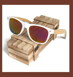 BOBO BIRD NEW FASHION HANDMADE WOOD WOODEN SUNGLASSES CUTE DESIGN FOR MEN WOMEN