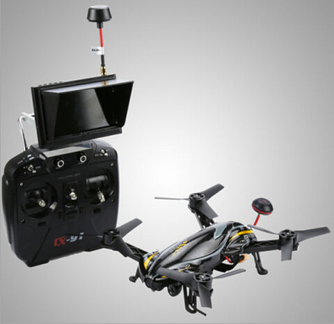 PROFESSIONAL RC DRONE  WITH 720P HD CAMERA REAL TIME TRANSMISSION REMOTE CONTROL TOY