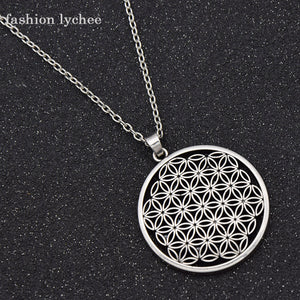 GOLD SILVER COLOR PENDANT NECKLACE 7 STYLES GEOMETRIC NECKLACE