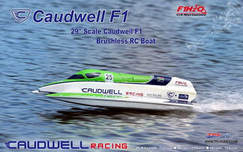 CAUDWELL RC RACING BOAT WITH  BRUSHLESS MOTOR 70A ESC