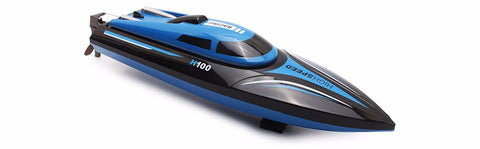 HIGH SPEED RC BOAT 4 CHANNEL  RACING REMOTE CONTROL BOAT WITH LCD SCREEN