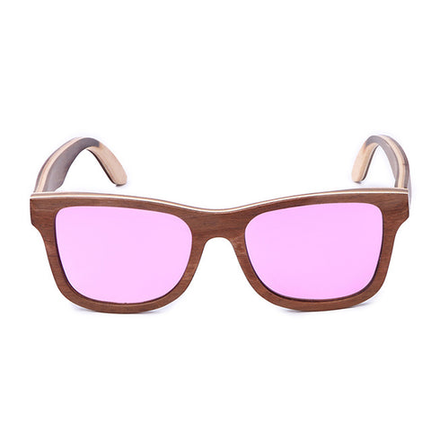 amazon sells hot skateboard wooden sunglasses can customize the LOGO