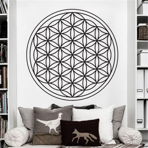 SEED FLOWER OF LIFE WALL DECAL ART DECOR STICKER