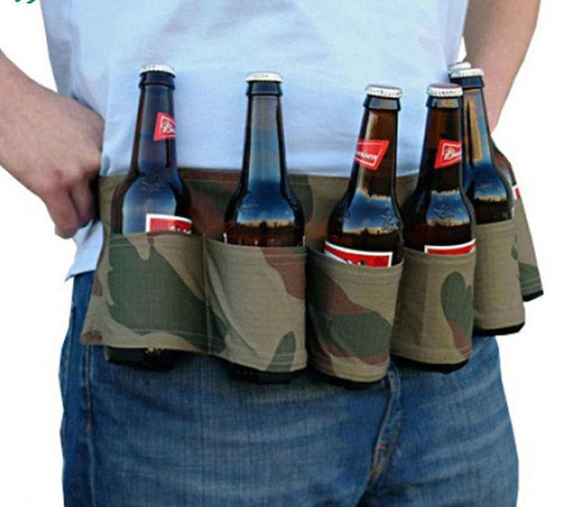 Outdoor 6-Pack Beer Belt