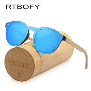Wood Sunglasses for Women & Men Bamboo Frame Glasses Handmade Wooden Eyeglasses