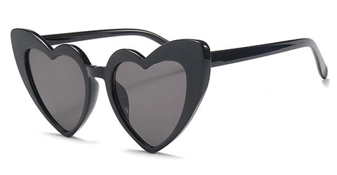 LOVE HEART SUNGLASSES WOMEN CAT EYE VINTAGE