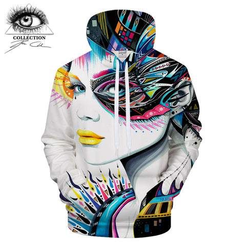 Hoodies Sweatshirts 3D Tracksuits Brand Pullover Novelty