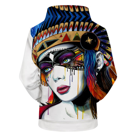 Pixie cold Art 3D Print Hoodies Pullover Sweatshirt Men Women Hoodies