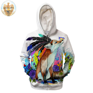 Zipper 3D Hoodie Unisex Sweatshirts Men Zip Up Hoodies Casual Tracksuits Brand