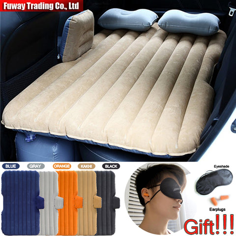 Car Air Mattress Travel Bed Car Back Seat Cover Inflatable Mattress
