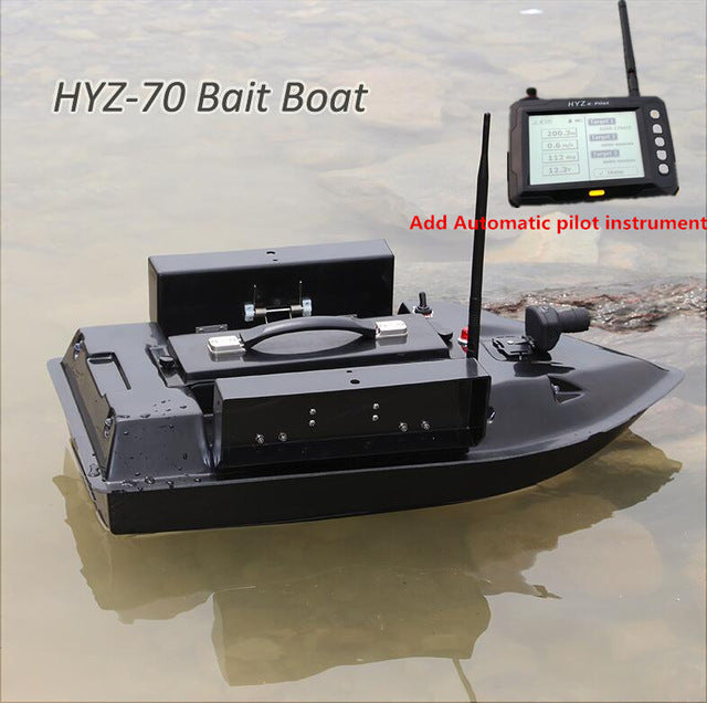 NEW LARGE RC FIBERGLASS BAIT BOAT  REMOTE CONTROL