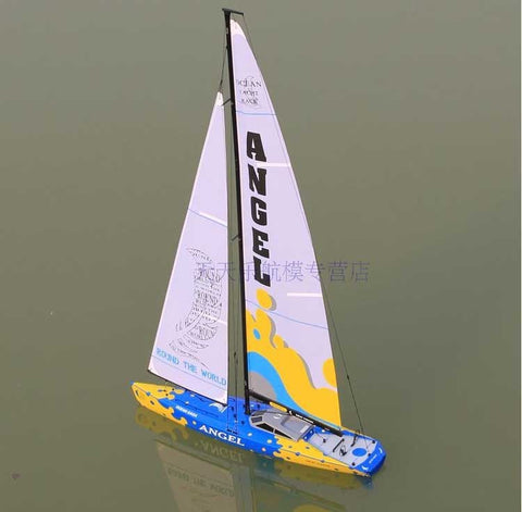 NEW LARGE-SCALE REMOTE CONTROL SAILBOAT RC REMOTE CONTROL MODEL SAILBOAT