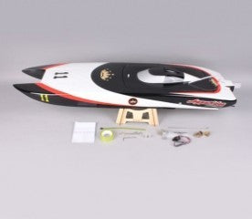 APPARITION CATAMARAN FIBERGLASS ELECTRIC BRUSHLESS RC BOAT WITH TWO MOTORS