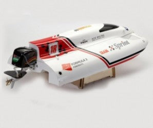 FIBERGLASS ELECTRIC BRUSHLESS RC RACING BOAT